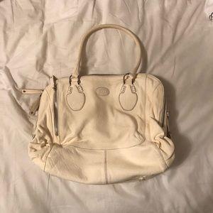 Tods leather handbag satchel